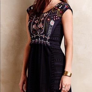 Anthropologie One September Embroidered tunic xs